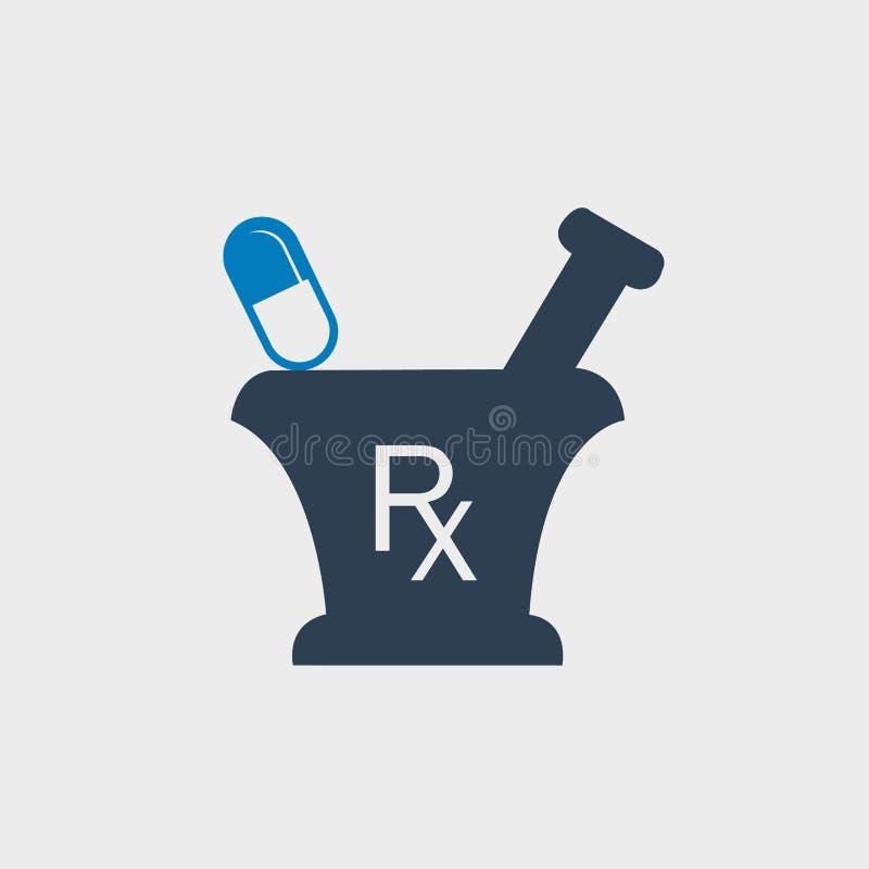 药房和医学象 库存例证