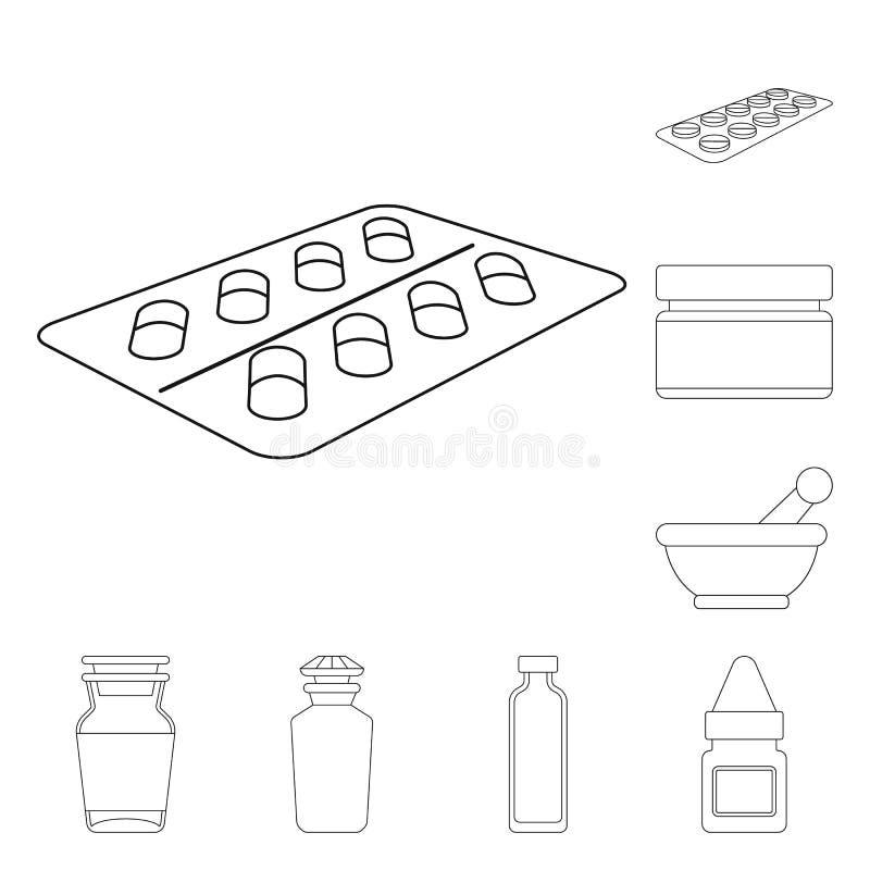 药房和配药象传染媒介设计  o 向量例证