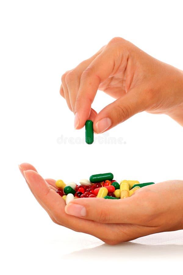 药片。 图库摄影