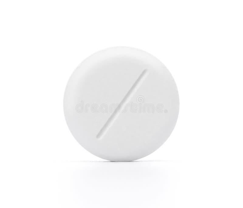 药片白色 免版税图库摄影