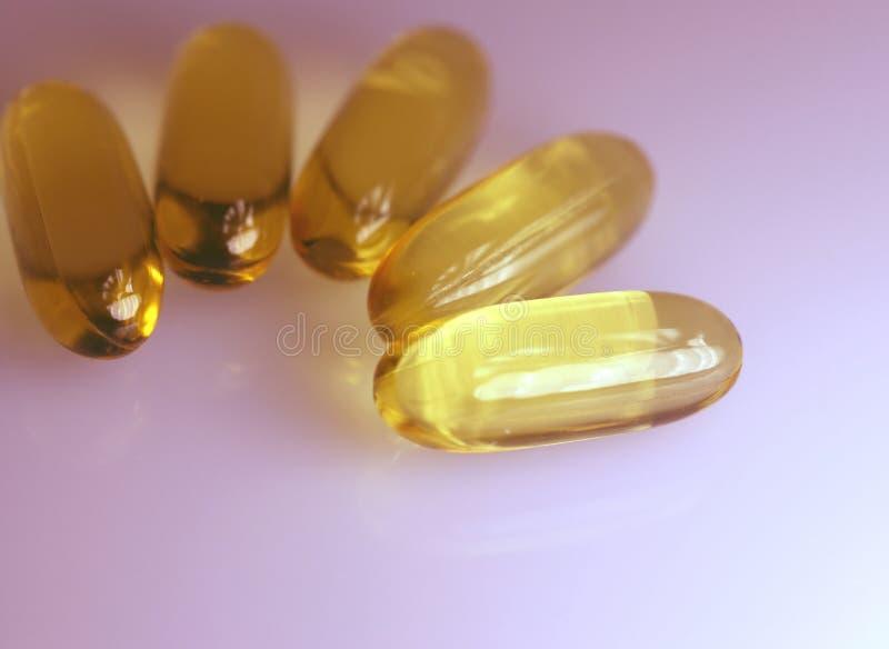 药物或维生素 库存图片