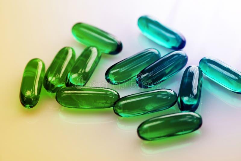 药物或维生素 免版税库存照片