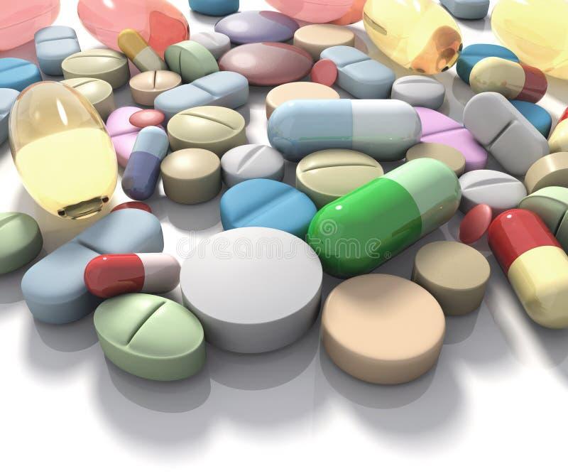 药物补充条款 皇族释放例证