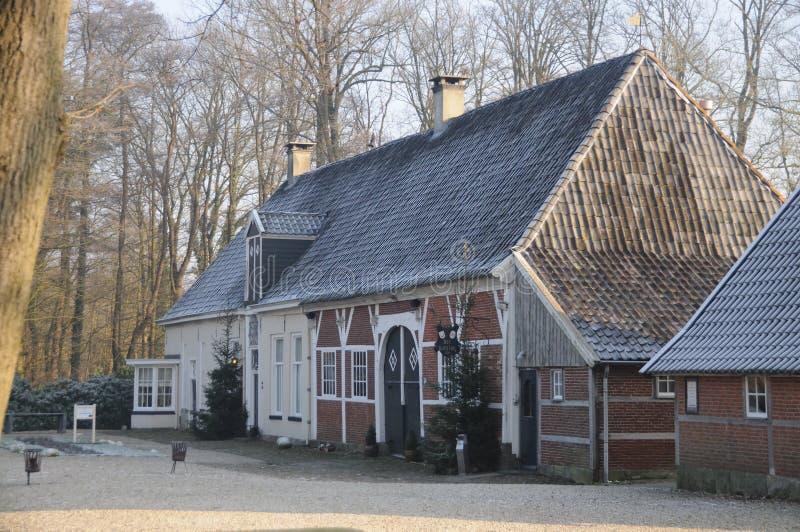 荷兰冬天大局 免版税库存照片
