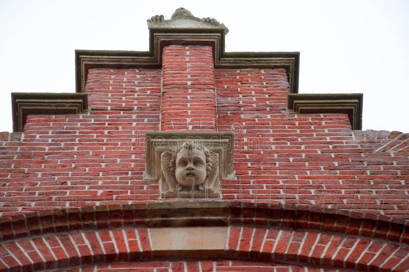 荷兰历史建筑 库存照片