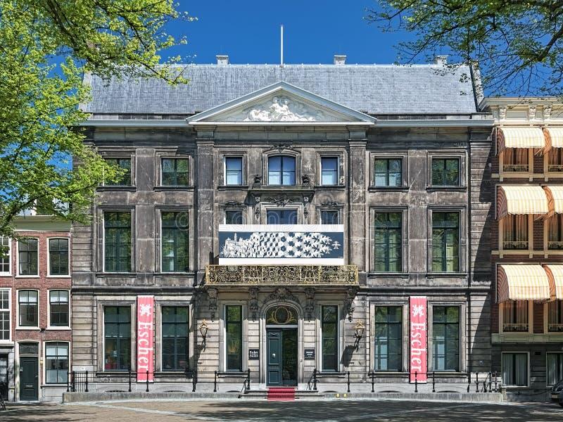 荷兰图解艺术家M的博物馆 C Escher在海牙,荷兰 库存图片