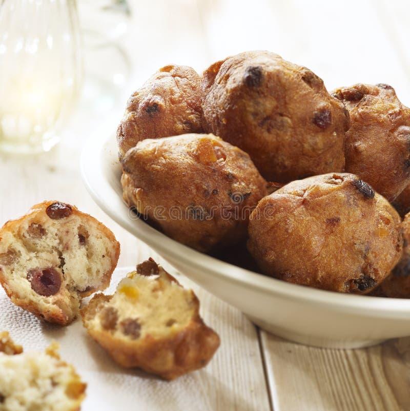 荷兰多福饼用葡萄干 免版税库存照片