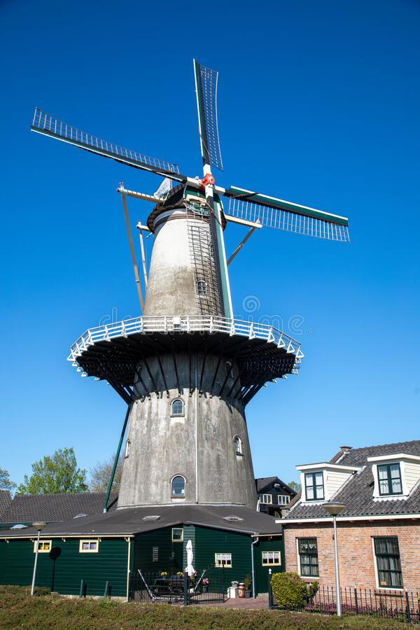 荷兰威斯特兰沃廷根的风笛 库存图片
