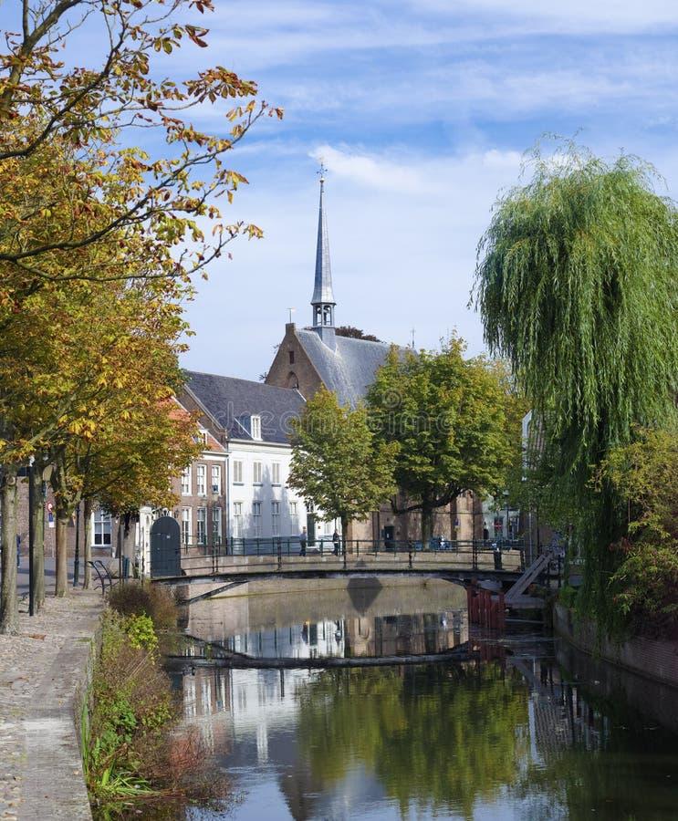 荷兰市中心 库存图片