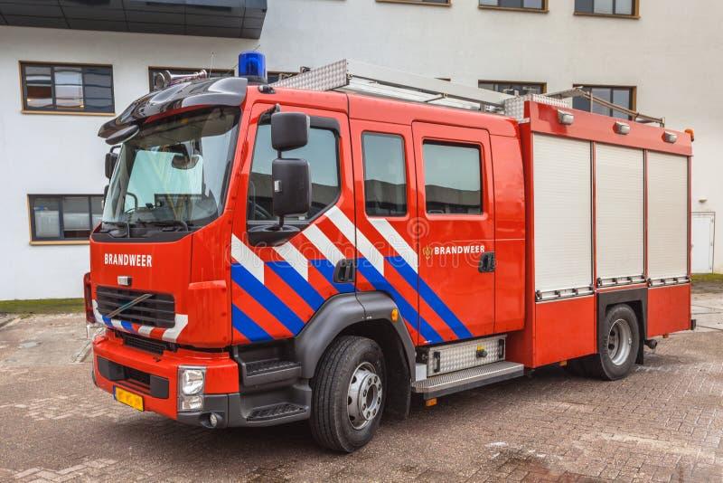 荷兰消防车 免版税库存图片