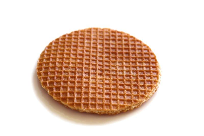 荷兰糖浆奶蛋烘饼(stroopwafel) 库存图片