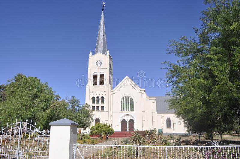 荷兰被改革的教会Steytlerville 图库摄影