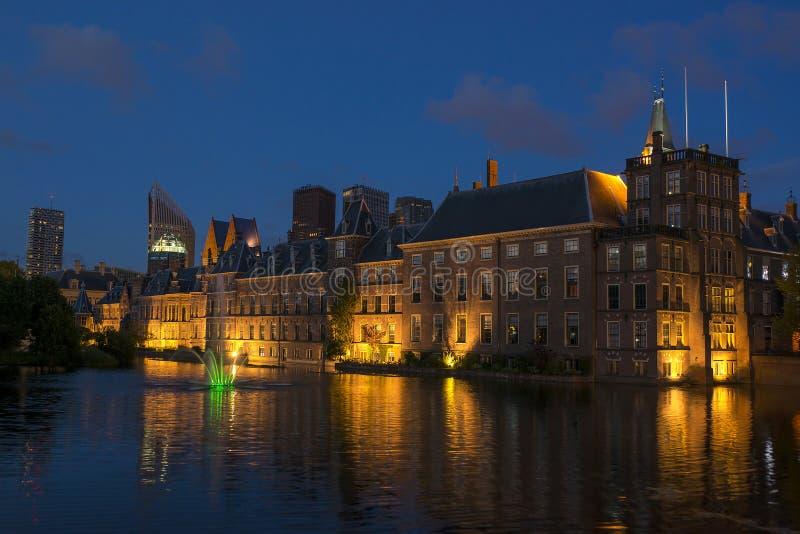 荷兰议会大厦 库存照片