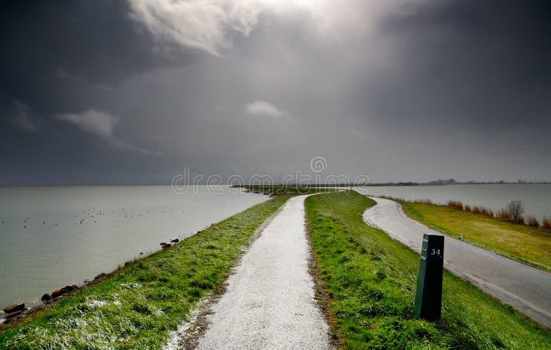 荷兰语天气 库存照片