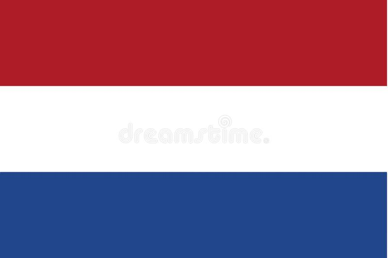 荷兰语标志 向量例证