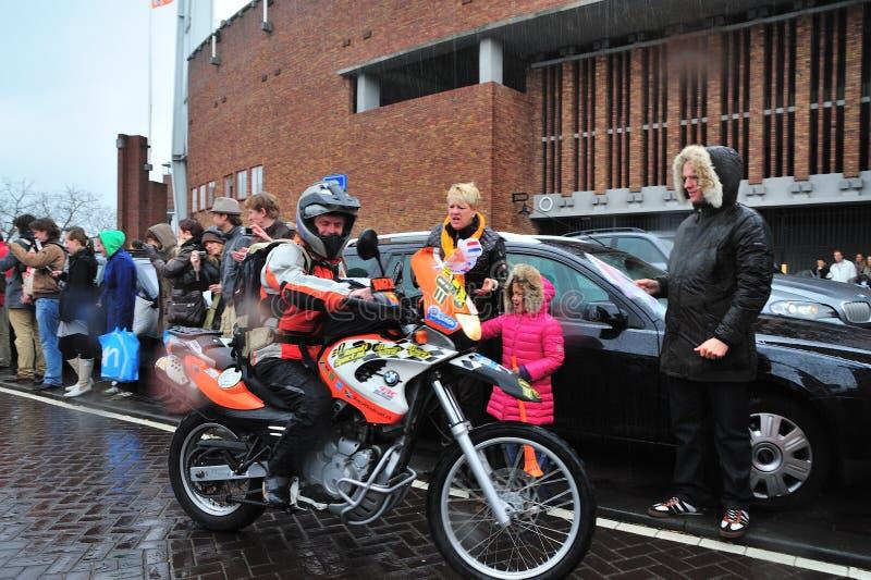 荷兰语橙色战利品 免版税库存照片