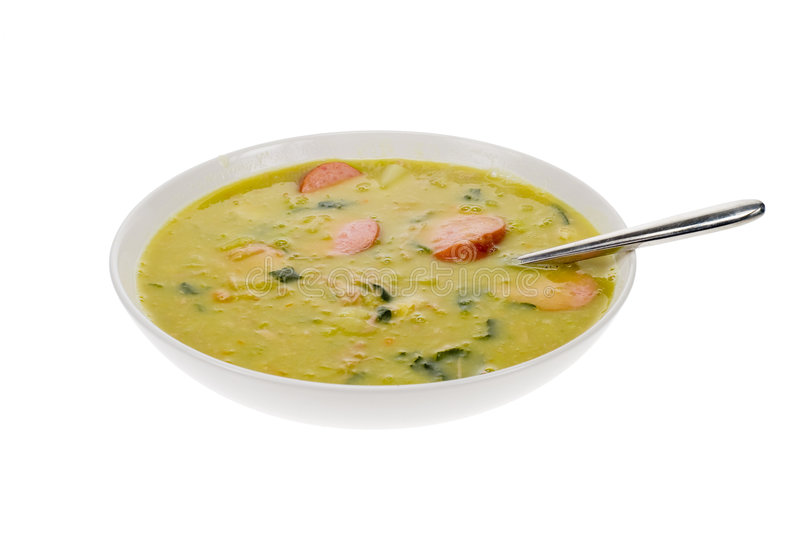 荷兰语浓豌豆汤
