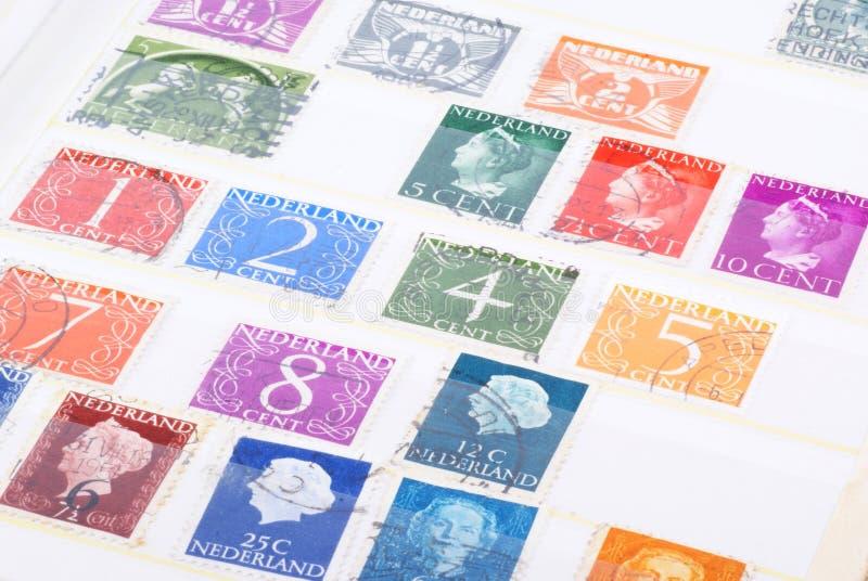 荷兰语老印花税 免版税库存图片