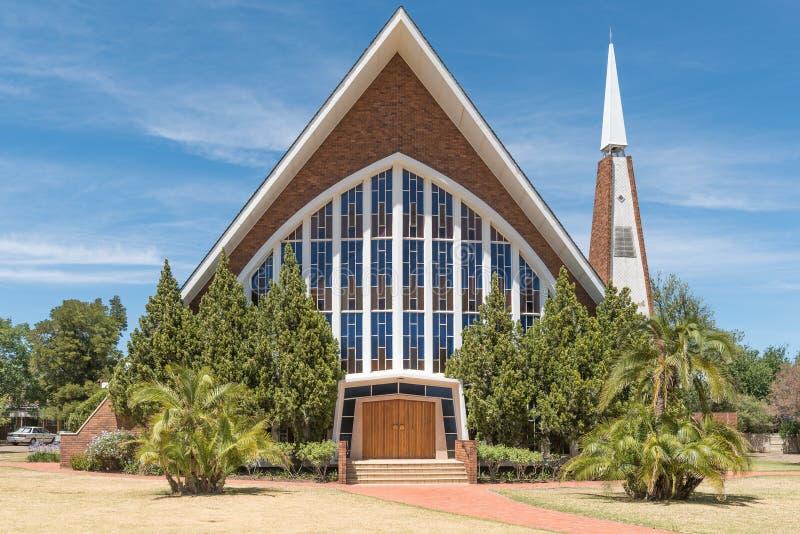 荷兰语被改革的教会冰山en Dal 免版税图库摄影