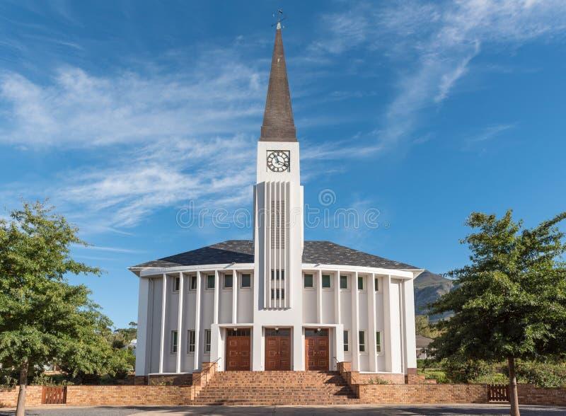 荷兰语被改革的教会在Greyton 免版税图库摄影
