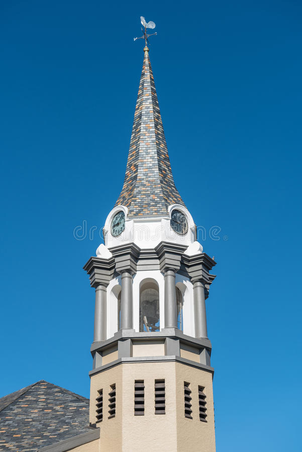荷兰语被改革的教会布隆方丹西部 库存照片