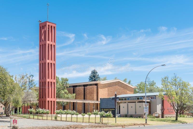 荷兰语被改革的教会Heuwelsig 库存照片