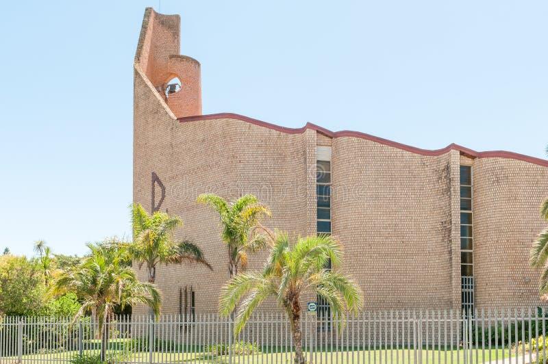荷兰语被改革的教会Humansdorp东部 库存图片