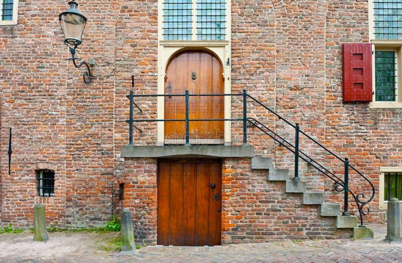 荷兰语门廊 免版税库存照片