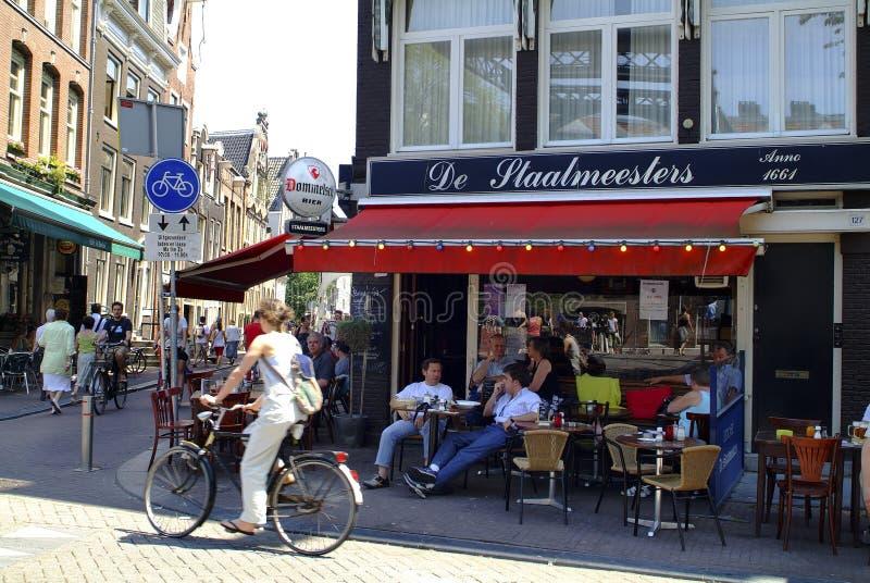 荷兰,阿姆斯特丹 库存照片