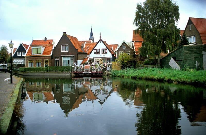 荷兰volendam 免版税库存照片
