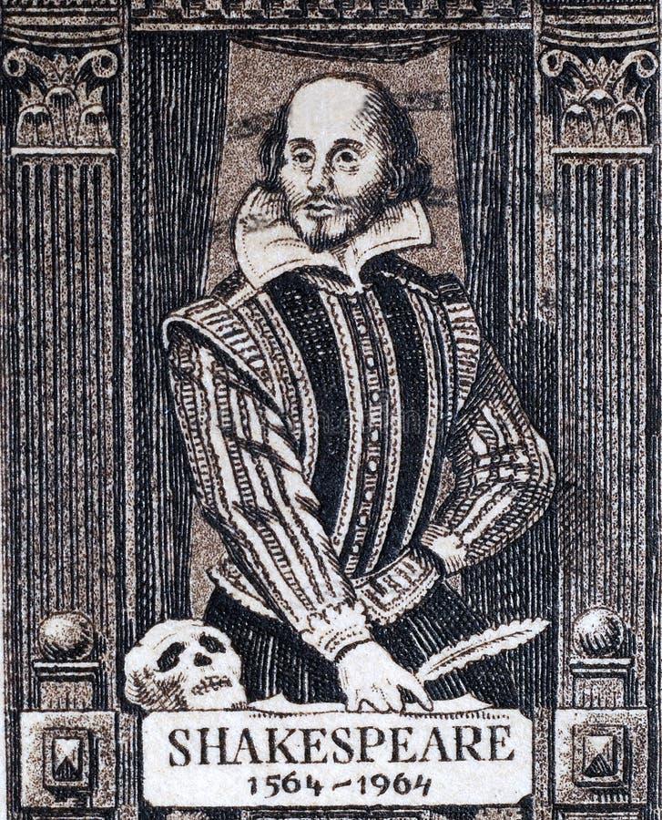 莎士比亚・威廉 免版税库存照片