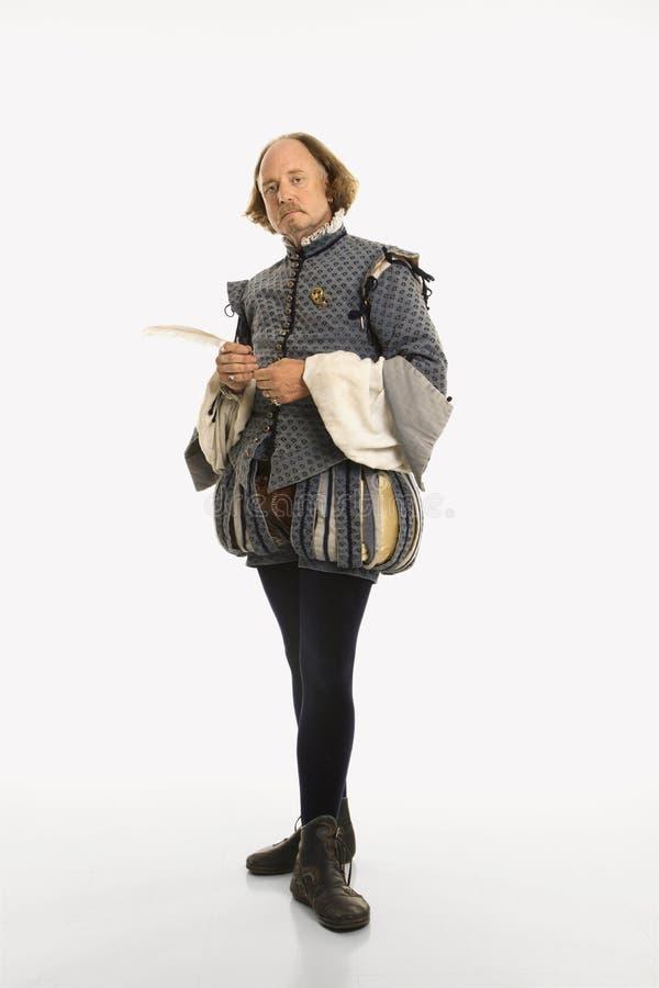 莎士比亚身分 图库摄影