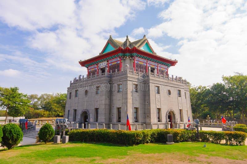 莒光塔在金门,台湾 库存图片