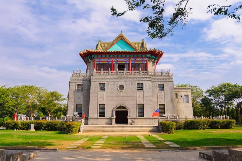 莒光塔在金门,台湾 免版税库存图片