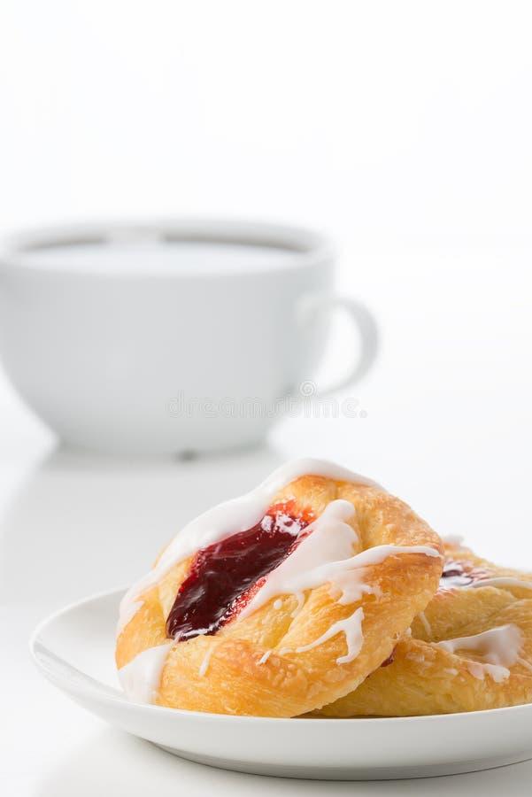 莓丹麦画象 库存照片