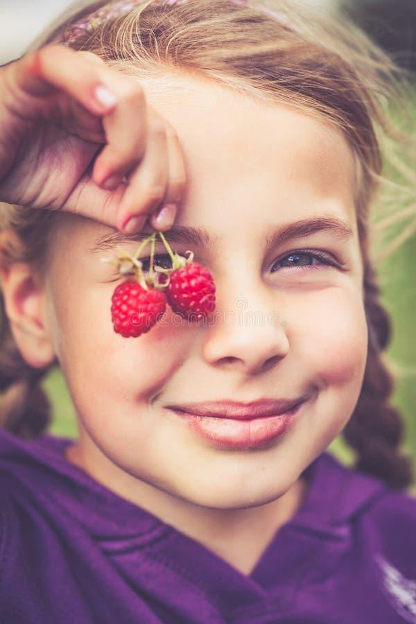 莓手指 库存图片