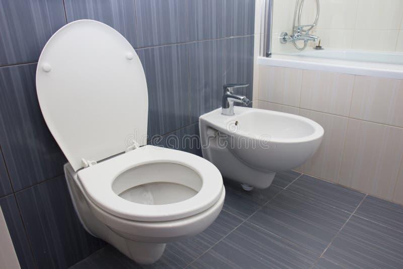 莫代尔豪华卫生间 库存图片