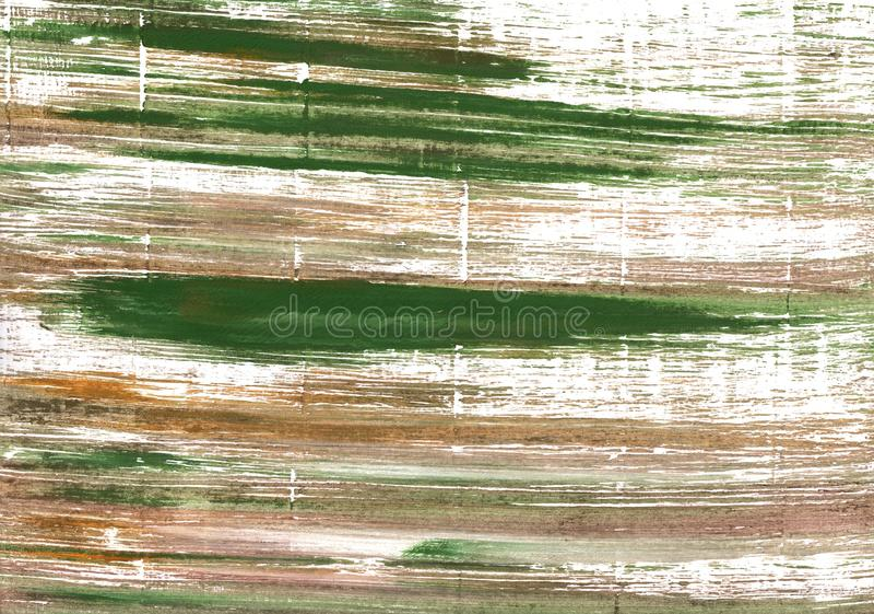 莫卧儿绿色抽象水彩背景 库存图片