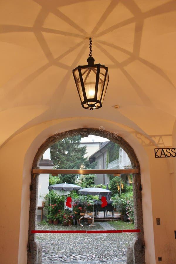 莫扎特Wohnhaus,萨尔茨堡 免版税库存照片