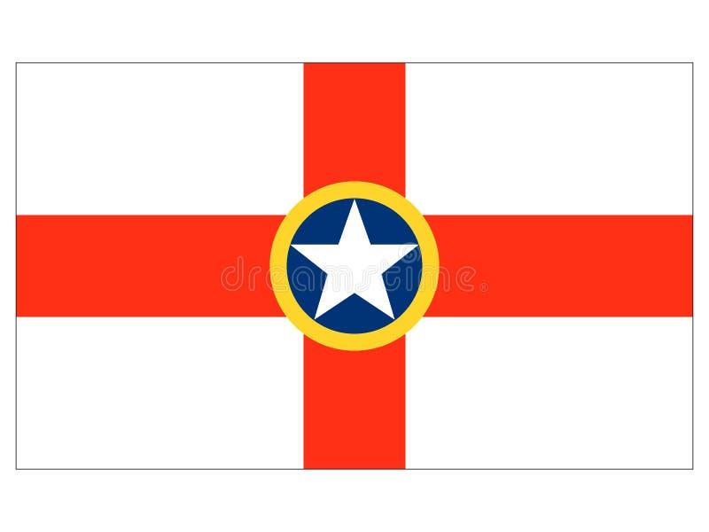 莫斯塔马尔他的旗子  库存例证