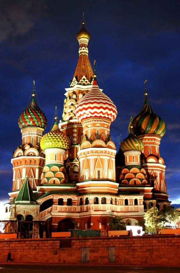 莫斯科俄国寺庙 免版税库存图片