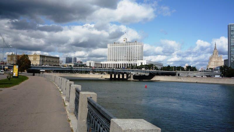 莫斯科俄罗斯联邦政府 库存图片