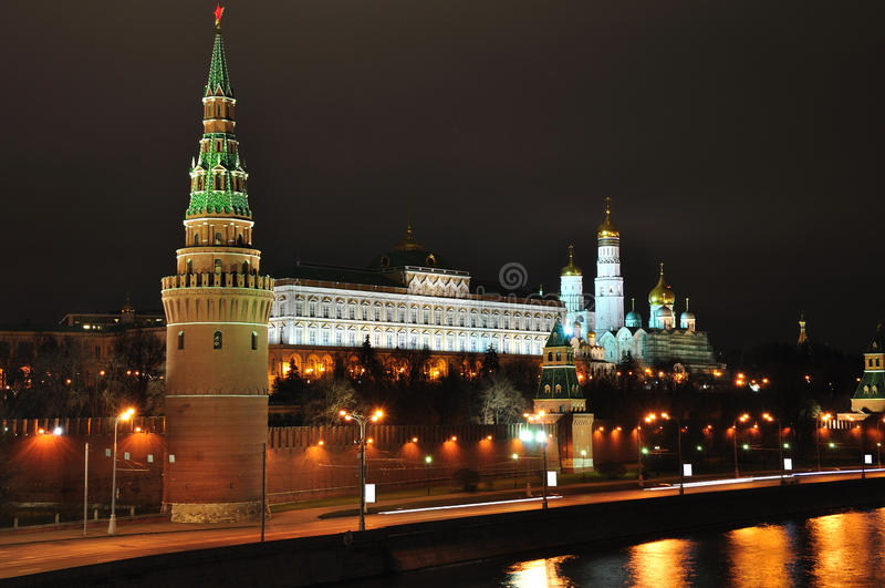 莫斯科克里姆林宫。 图库摄影