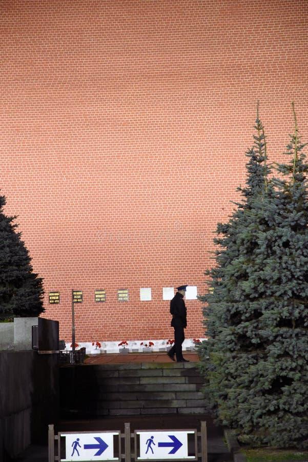 莫斯科克里姆林宫在晚上  免版税库存照片