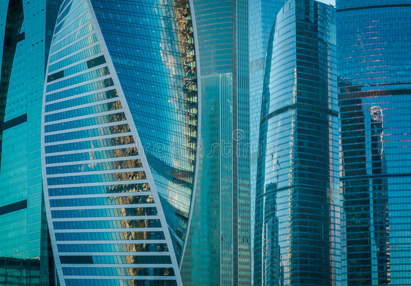 莫斯科国际商业中心 免版税库存照片