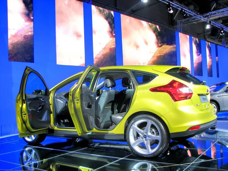 莫斯科国际汽车展示会2010年 免版税图库摄影