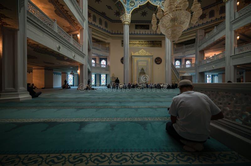 莫斯科大教堂清真寺 免版税库存照片