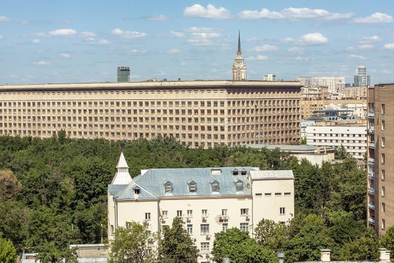 莫斯科屋顶 免版税图库摄影