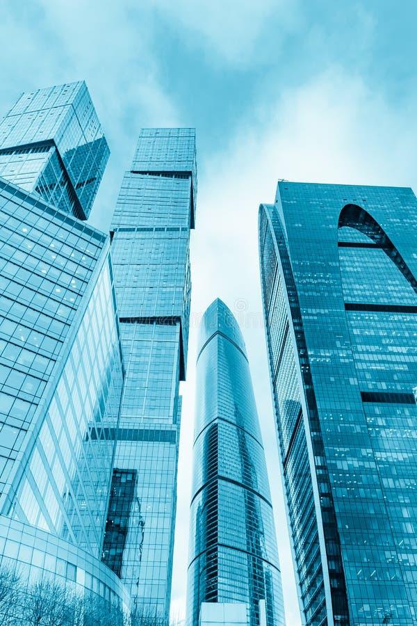 莫斯科市国际商业中心在俄罗斯 免版税图库摄影