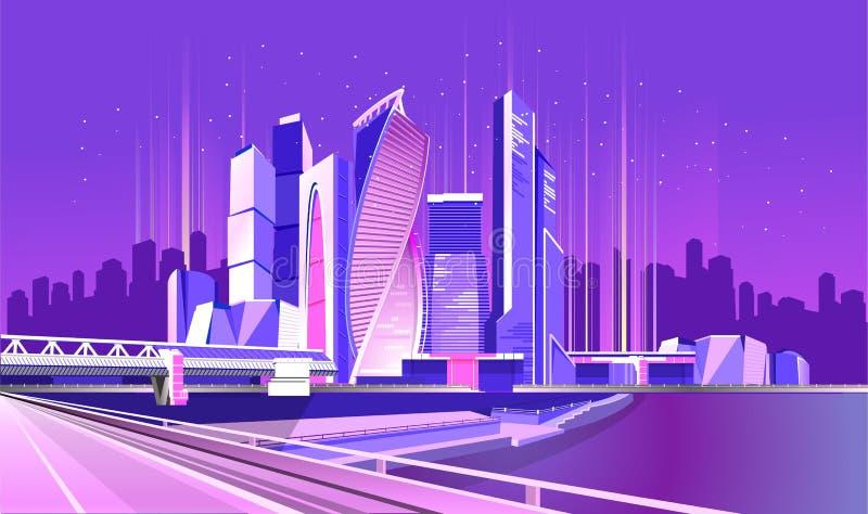 莫斯科市氖 皇族释放例证